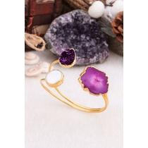 Pearl & Amethyst Bracelet