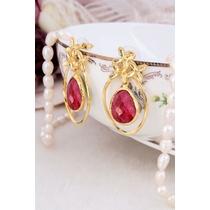 Agate Earring