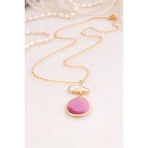Pearl & Zircon Necklace