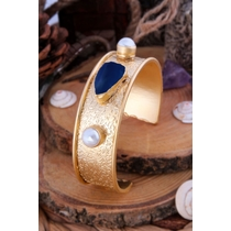 Agate & Pearl Bracelet